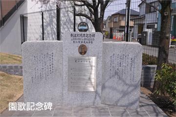 園歌記念碑